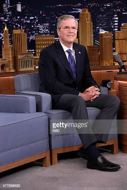 Former Governor Jeb Bush on June 16 2015