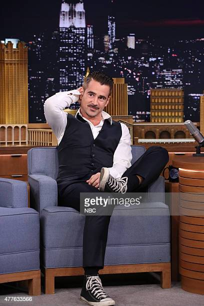Actor Colin Farrell on June 18 2015