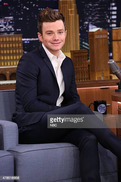 Actor Chris Colfer on June 25 2015