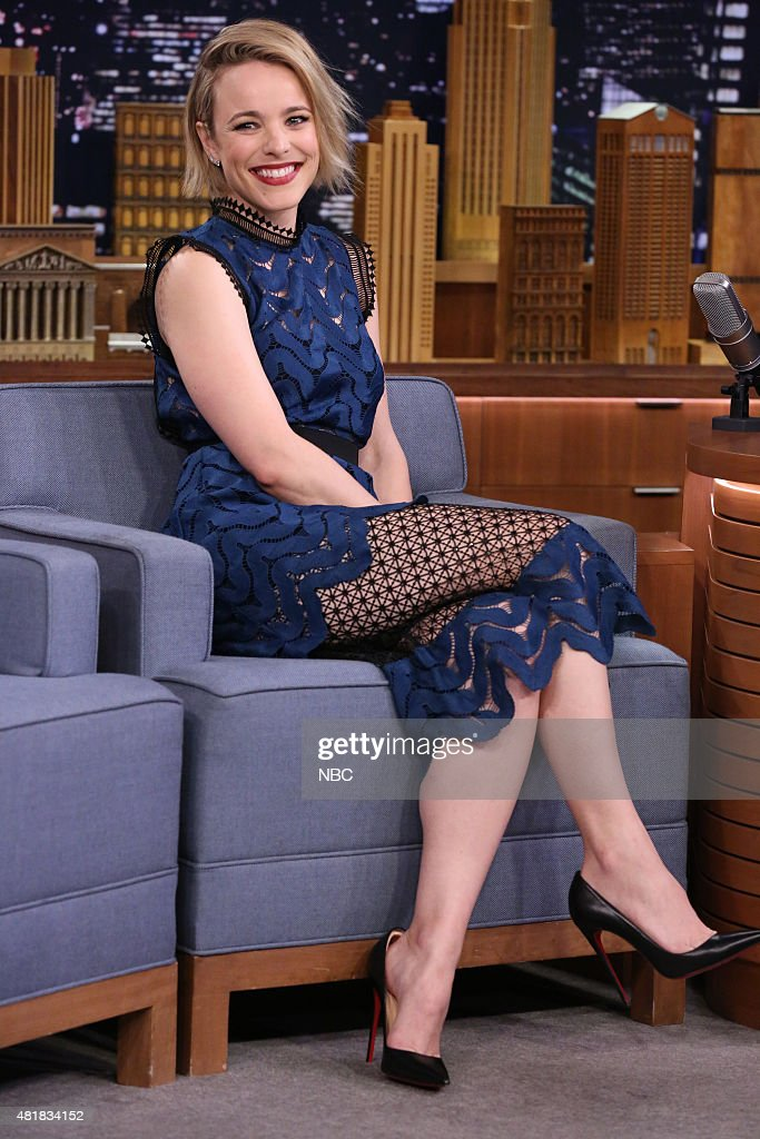 "NBC's ""Tonight Show Starring Jimmy Fallon"" with guests Rachel McAdams, Michael Pena, Robert Klein"