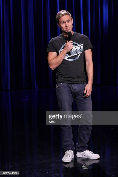 Comedian Russell Howard performs on July 31 2015
