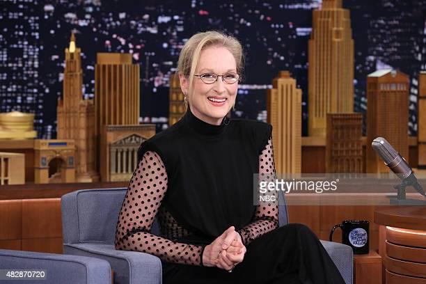 Actress Meryl Streep on August 3 2015