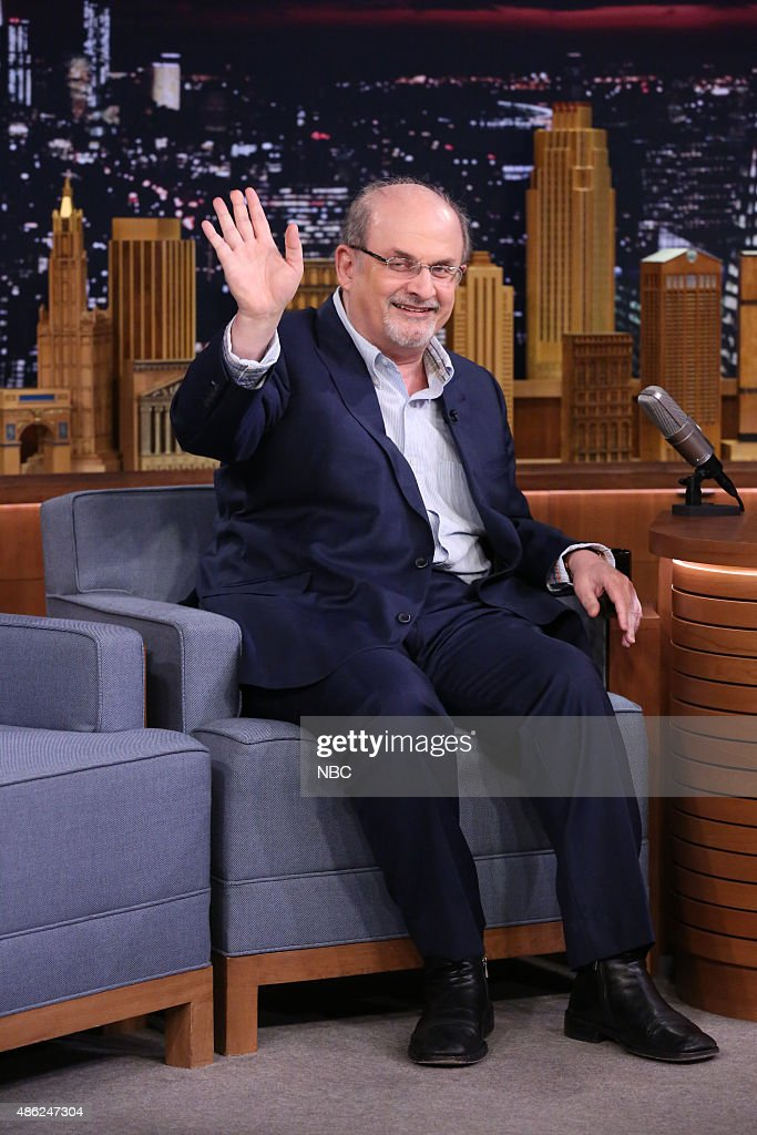 "NBC's ""The Tonight Show Starring Jimmy Fallon"" with guests Justin Bieber, Salman Rushdie"