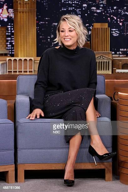 Actress Kaley Cuoco on September 17 2015