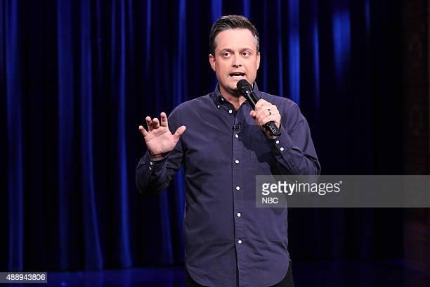 Comedian Nate Bargatze performs on September 18 2015