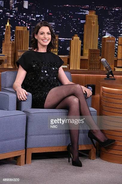 Actress Anne Hathaway on September 22 2015