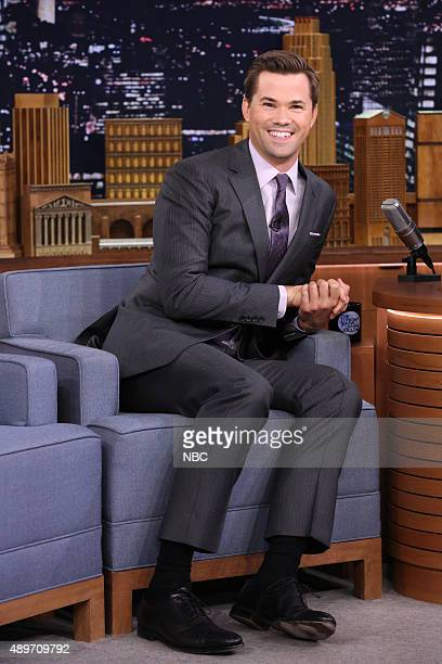 Actor Andrew Rannells on September 23 2015