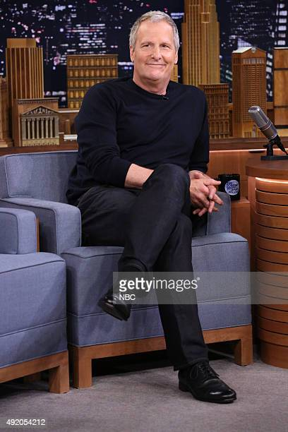 Actor Jeff Daniels during an interview on October 9 2015