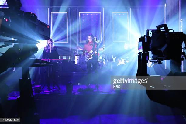 Musical guest BØRNS performs on October 16 2015