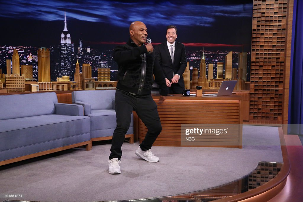 "NBC's ""The Tonight Show Starring Jimmy Fallon"" with guests David Spade, Mike Tyson, Blake Shelton"