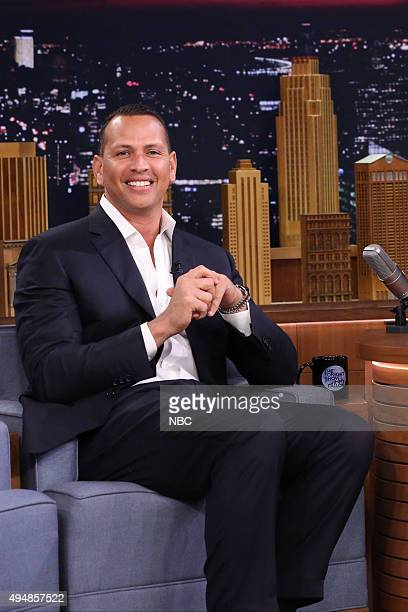 Professional baseball player Alex Rodriguez on October 29 2015