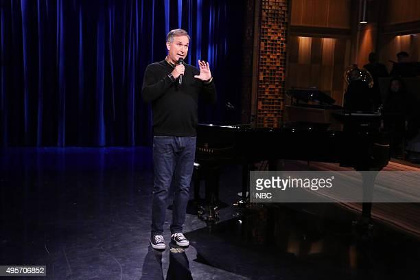 Comedian Wayne Federman performs on November 4 2015
