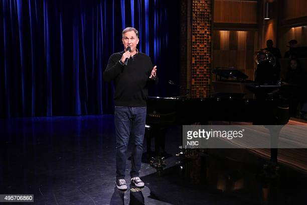 Comedian Wayne Federman performs on November 4 2015