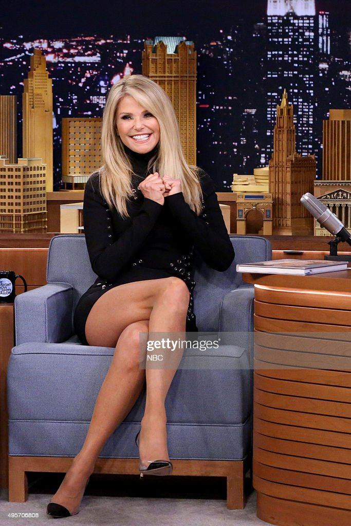 "NBC's ""The Tonight Show Starring Jimmy Fallon"" with guests Aziz Ansari, Christie Brinkley, Eric Hosmer, Salvador Perez, Wayne Federman"