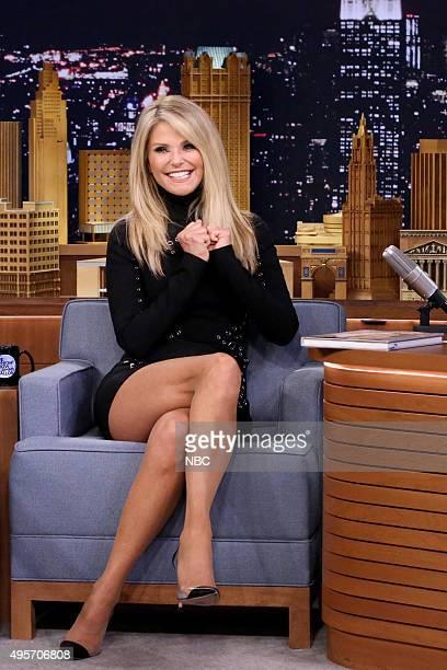 Model Christie Brinkley on November 4 2015