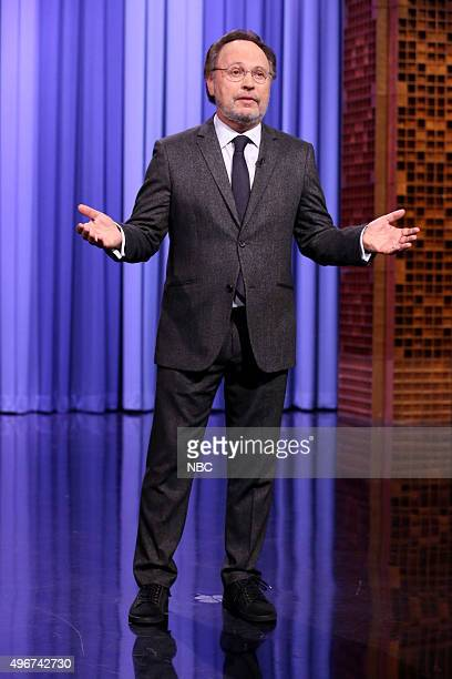 Actor Billy Crystal during the 'Suggestion Box' bit on November 11 2015