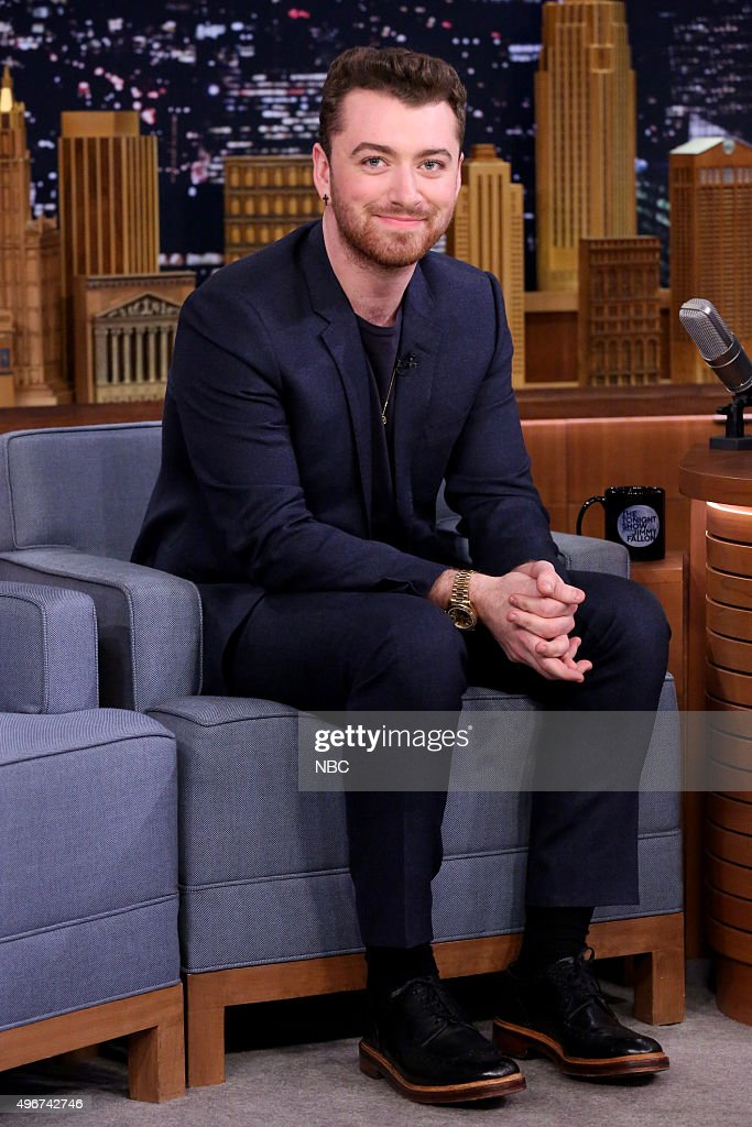 "NBC's ""The Tonight Show Starring Jimmy Fallon"" with guests James McAvoy, Sam Smith, Kurt Braunohler"