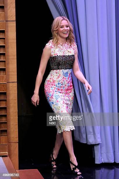 Actress Elizabeth Banks on November 12 2015