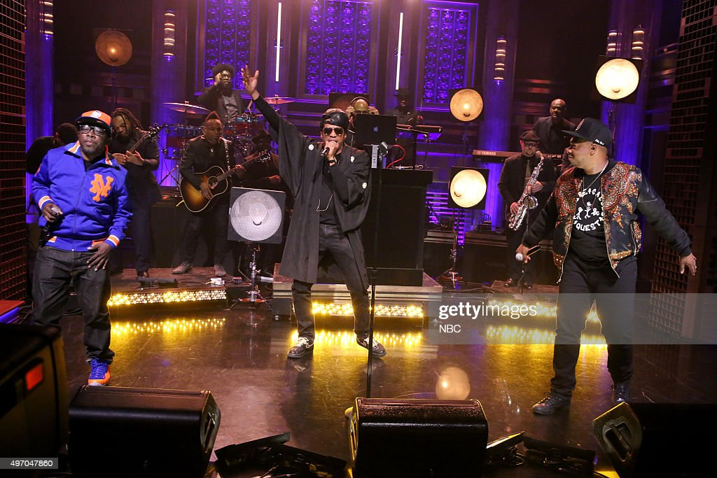 "NBC's ""The Tonight Show Starring Jimmy Fallon"" with guests Ethan Hawke, Paul Dano, A Tribe Called Quest"