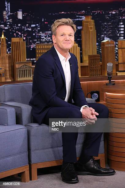 Chef Gordon Ramsay during an interview on November 20 2015