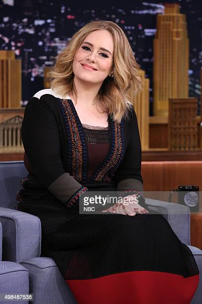 Singer Adele on November 23 2015