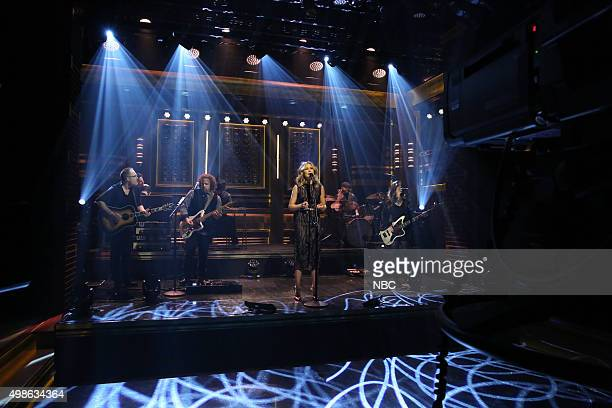 Musical guest Jennifer Nettles performs on November 24 2015