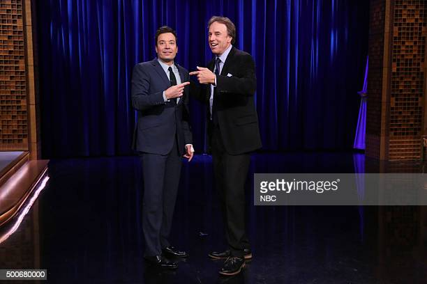 Actor Kevin Nealon during an interview with host Jimmy Fallon on December 9 2015