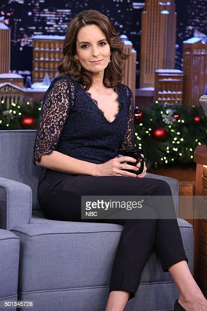 Actress Tina Fey during an interview on December 14 2015