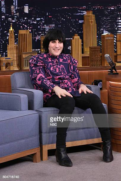 Comedian Noel Fielding during an interview on January 12 2016