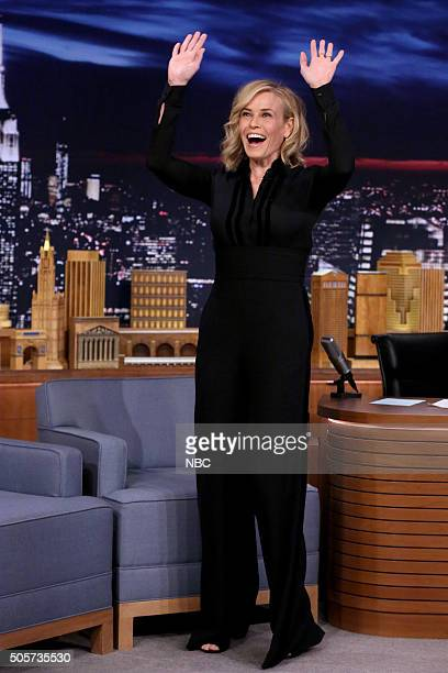 Comedian Chelsea Handler arrives on January 19 2016
