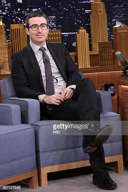 Television show host John Oliver on January 27 2016