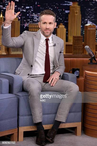 Actor Ryan Reynolds on February 9 2016