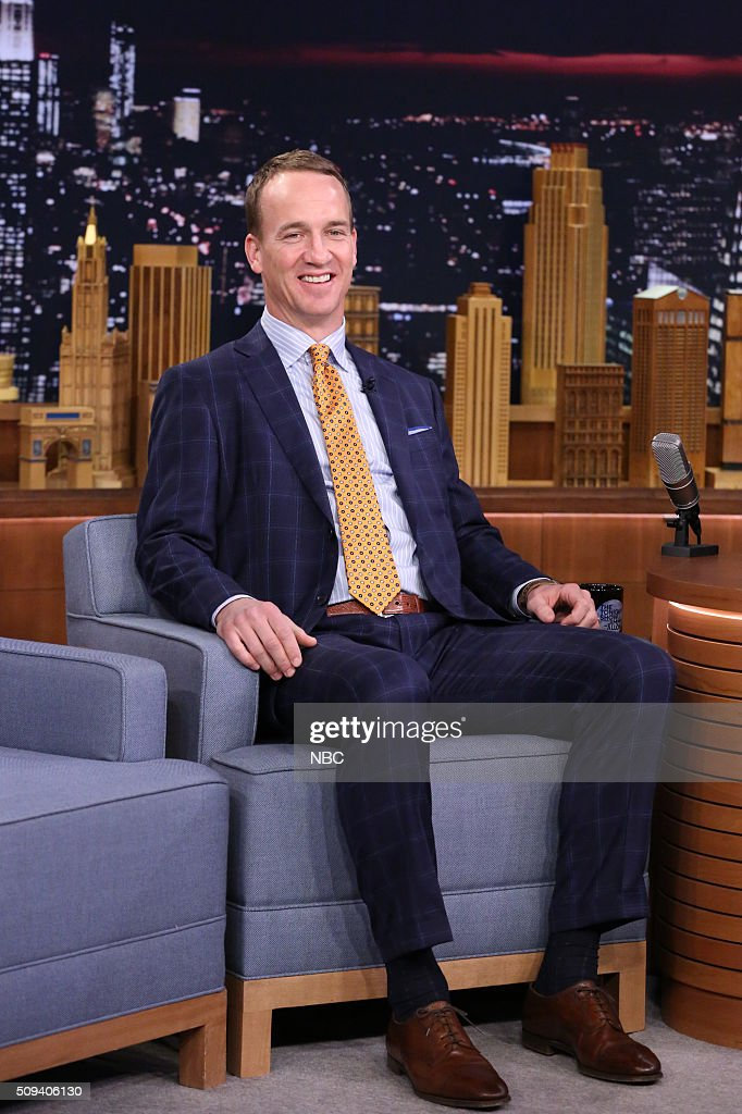 "NBC's ""The Tonight Show Starring Jimmy Fallon"" with guests Penelope Cruz, Peyton Manning, Magic Johnson, Halsey"