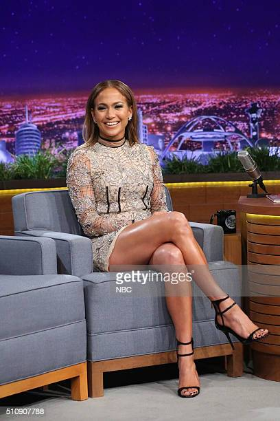 Actress Jennifer Lopez on February 17 2016