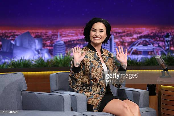 Singer Demi Lovato on February 19 2016