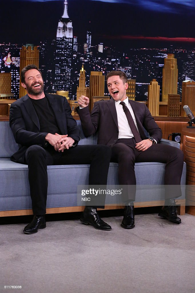 "NBC's ""The Tonight Show Starring Jimmy Fallon"" with guests Hugh Jackman, Taron Egerton, Audra McDonald, Hall & Oates"