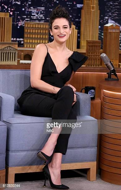Actress Jenny Slate on February 25 2016