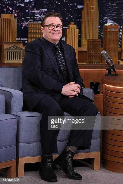 Actor Nathan Lane on February 26 2016