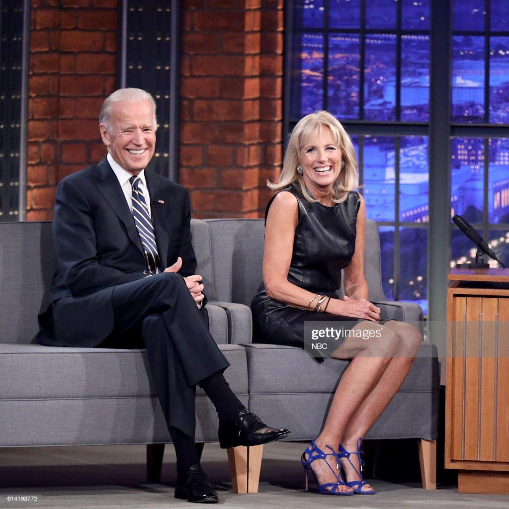 "NBC's ""Late Night with Seth Meyers"" with guests Joe Biden, Jill Biden, Sturgill Simpson, Thaddeus Dixon, Corey Glover, Vernon Reid"