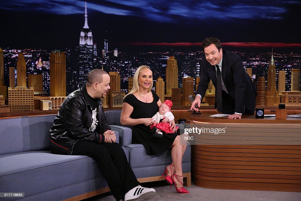 """NBC's """"The Tonight Show Starring Jimmy Fallon"""" with guests Ice T, Allison Williams, Gabriel Iglesias"""