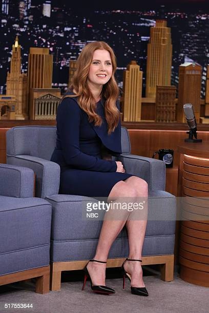 Actress Amy Adams during an interview on March 25 2016