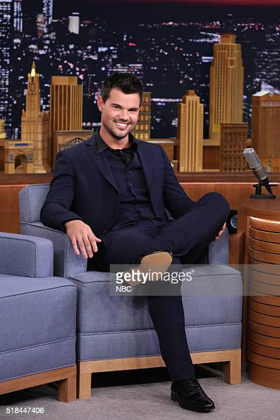 Actor Taylor Lautner on March 31 2016