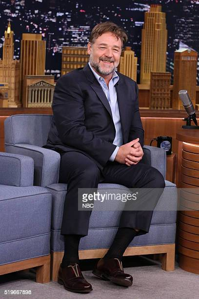 Actor Russell Crowe on April 7 2016