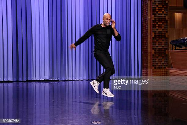 Actor Common breakdances on April 11 2016