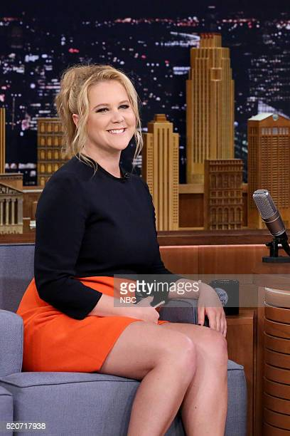 Comedian Amy Schumer on April 12 2016
