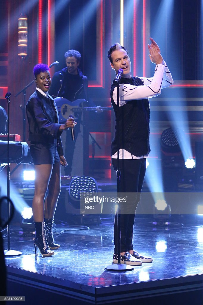 """NBC's """"The Tonight Show Starring Jimmy Fallon"""" with guests Matt Lauer, Gisele Bundchen, Fitz and The Tantrums"""