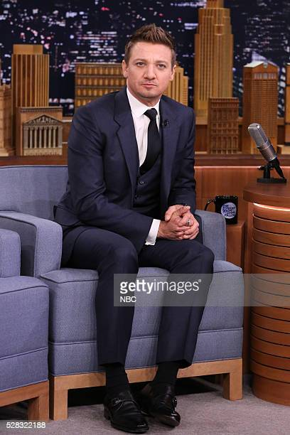 Actor Jeremy Renner on May 4 2016