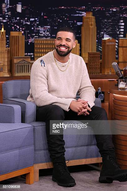 Rapper Drake during an interview on May 12 2016