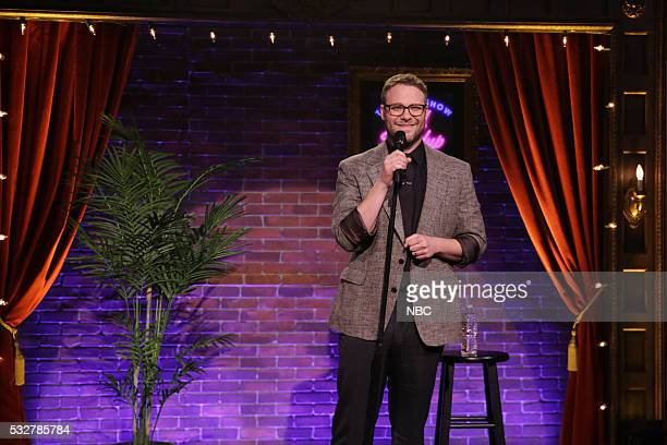 Actor Seth Rogen performs Kid StandUp on May 19 2016