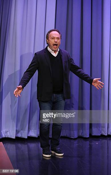 Actor Billy Crystal arrives on May 20 2016